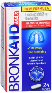 Bronkaid Max Caplets Front of Package