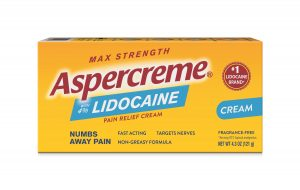 Aspercreme Front of Package
